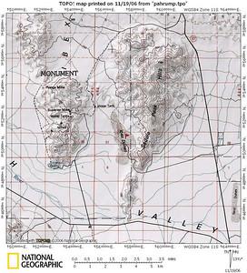 ibex dunes map