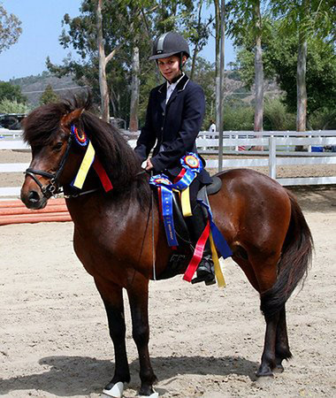 Winning in California - 2007 <i>photo:  Courtesy - Rosalind Adams</i>