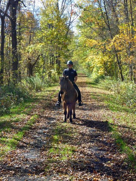 Last ride, October 2010