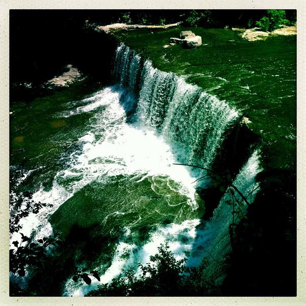 Seneca Mills Falls along the Keuka Outlet Trail<br /> May 27, 2013