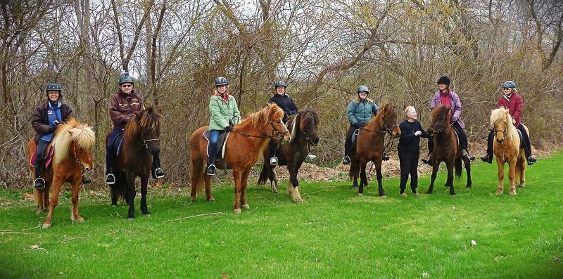 Saint Skutla Club ride for Steve's birthday - Keuka Lake Outlet Trail  April 27, 2014
