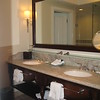 Sandals Emerald Bay- main bathroom of the Great Exuma Honeymoon One Bedroom suite<br /> <br /> For more information on Sandals Emerald Bay or any of the other Sandals resorts, please contact us at Romance@SandnSunVacations.com