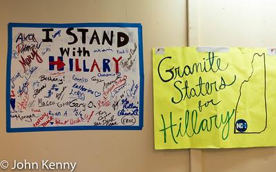 Team Hillary Art