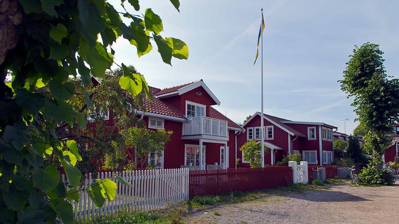 The village Sandhamn.