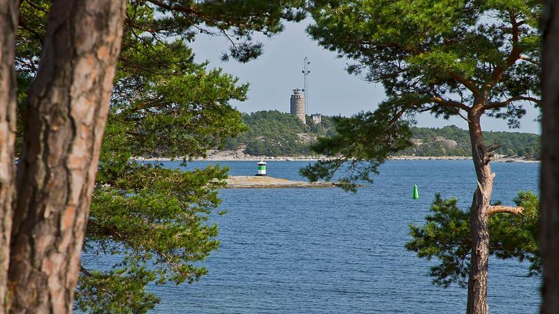 Korsö tower and one light house.
