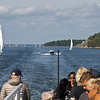 Many are sailing in the archipelago of Stockholm