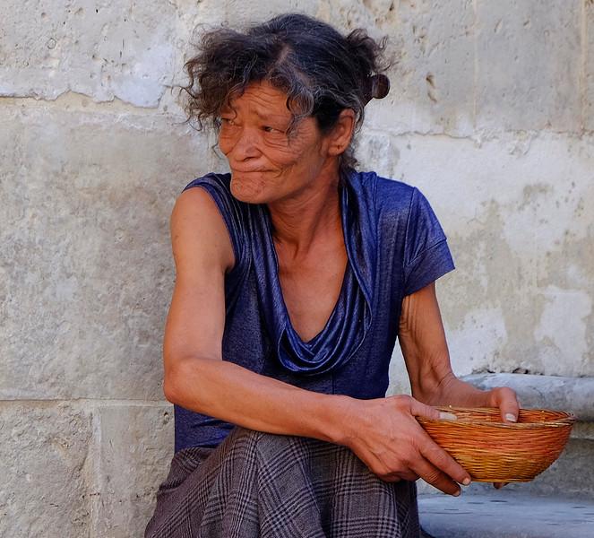 Beggar:  Noto, Sicily