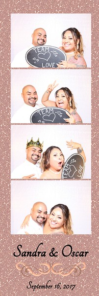 Annnd...Action! Photo Booth - Custom for Sandra & Oscar's Special Day