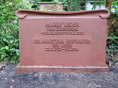 erhabene Inschrift Sandstein