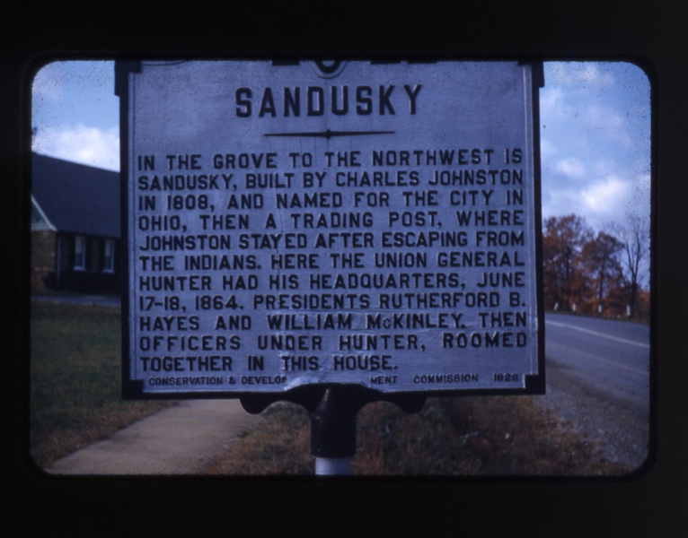 Historic Sandusky House Marker  (09757)