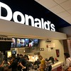 I've discovered a new restaurant at the SLC airport called Donald's.
