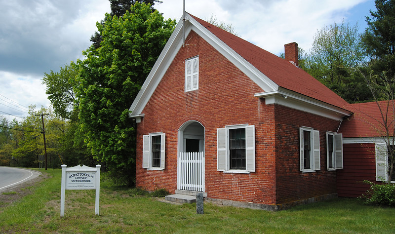 NASHOBA VALLEY VOICE/ANNE O'CONNOR<br /> The Sandy Pond Schoolhouse, built in 1868, is on the National Register of Historic Places. It was listed on May 8, after years of effort by volunteers and consultants. The designation means more grant opportunities for funds to maintain and repair the property.