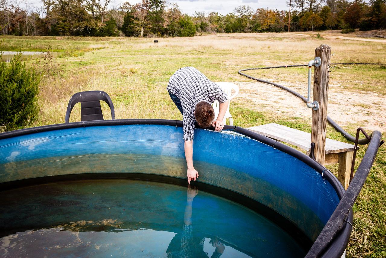 Redneck hot tub