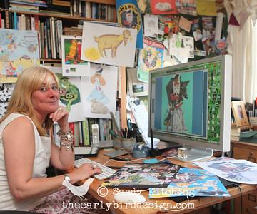 Sandy Kitching's design studio