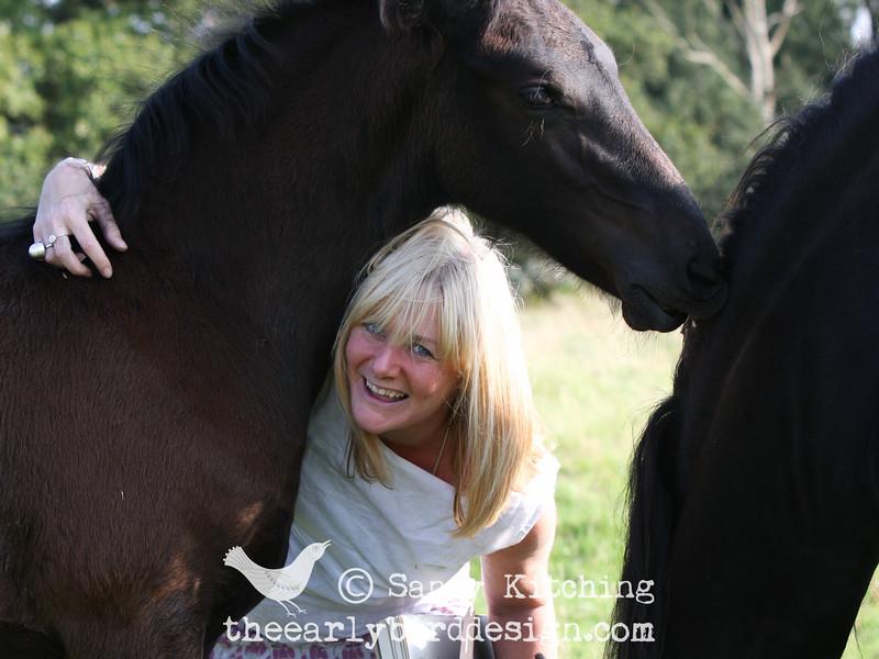 Sandy Kitching with Jolanda