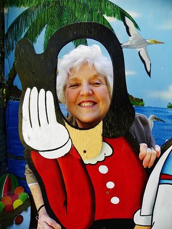 Sandy Visits Riverside