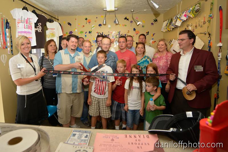 Blue Edge Marketing Ribbon Cutting Ceremony - Sandy Area Chamber of Commerce