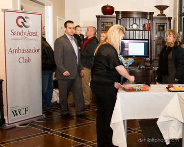 Safe Haven Private Vaults ribbon cutting ceremony hosted by the Sandy Area Chamber of Commerce, Tuesday, January 10, 2013.