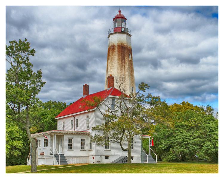 Ft. Hancock Lighthouse , Sandy Hook, NJ