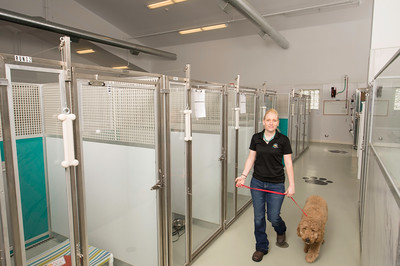 Sani Kennels with FRP