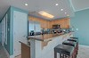 stainless kitchen with granite, all the gadgets you'll need