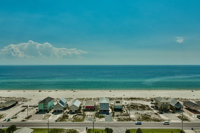 view of Gulf of Mexico from balcony