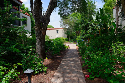 Walkway To The Middle Parking Area Sanibel Moorings
