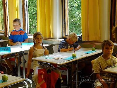Sankt Annæ Gymnasium; SAG; 2002; Første skoledag i 3V;