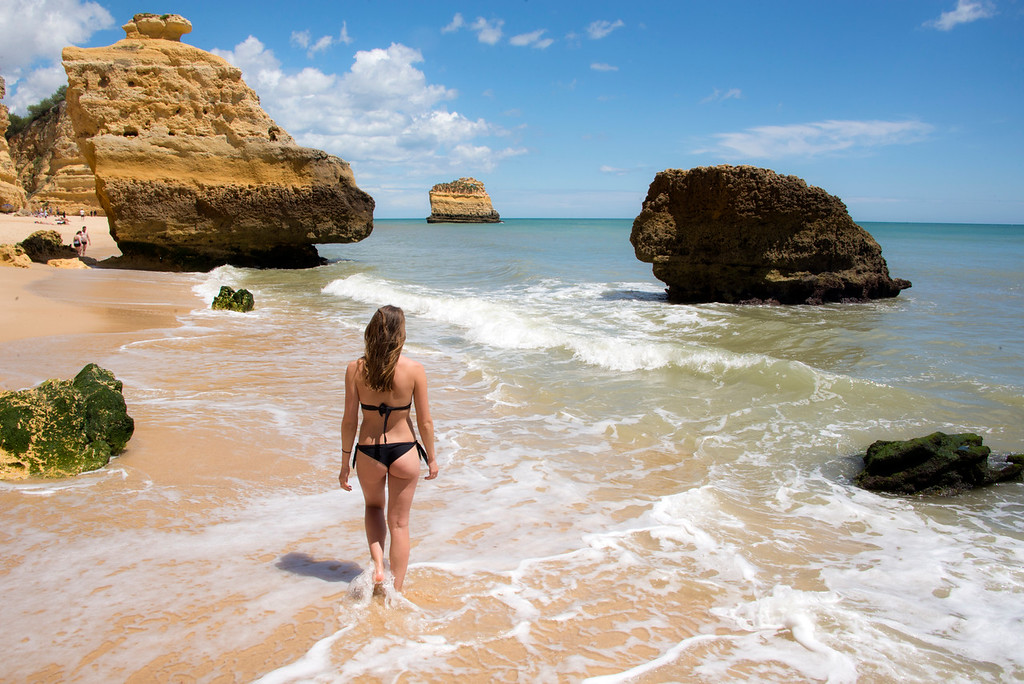 Cathedral Beach Algarve Portugal