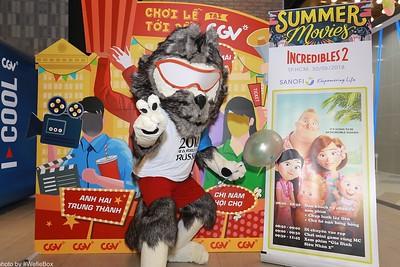 [PhotoboothSaigon] Sanofi Joyful Summer Photo Booth @CGV Van Hanh Mall
