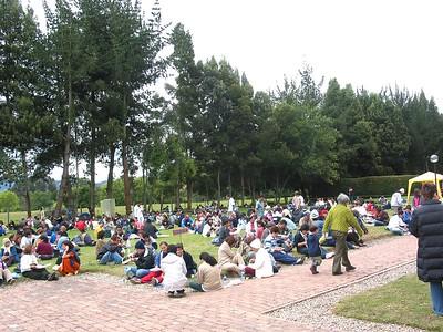 2003 Subachoque, Colombia - Jul <br>. . . Ashram scenes
