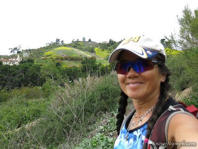 2014 (Apr 18)   Jesusita Trail to Inspiration Point, Rock Gym after