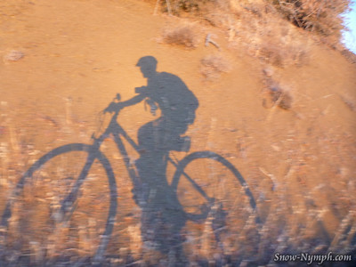 2014 (Aug 12)  San Rafael Mountain 6,593' solo day climb/bike 1/2 way