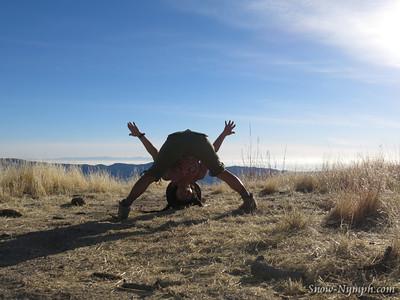 2014 (Jan 20) Little Pine Mountain (x1) solo hike, Los Padres NF, Santa Barbara