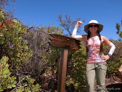 2014 (Mar 12) White Mtn & Rock Garden Loop from E Camino Cielo