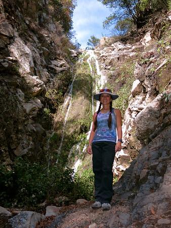 2014 (Mar 3) San Ysidro Falls short hike