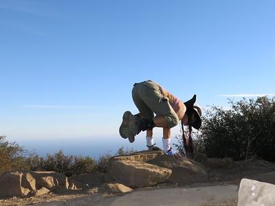 2014 (Oct 22)  Gaviota Peak Solo Birthday Hike (x8)