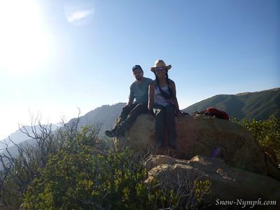 2015-08-09 (Aug 9) Flores Peak with Scott