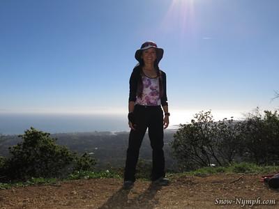 2015 (Feb 9) Cold Springs Loop - Montecito Overlook