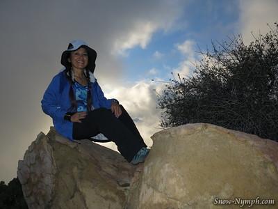 2015 (Jan 11) Montecito Peak from Cold Springs (x18)