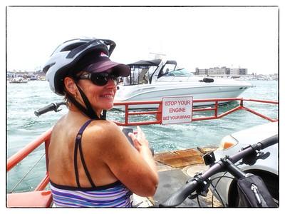 Balboa Island ferry crossing