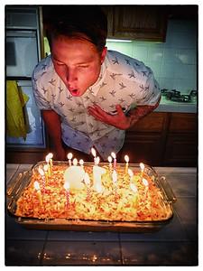 Evan's 19th Birthday