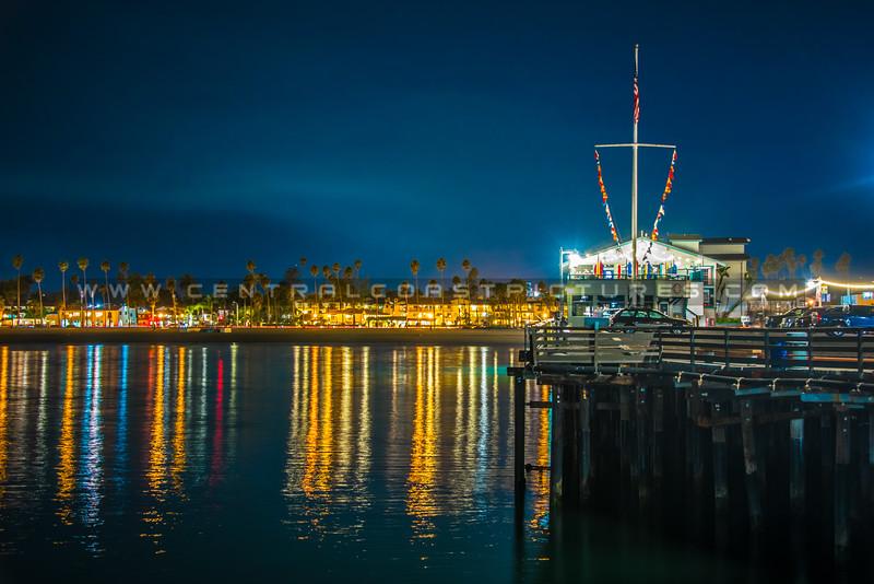 stearns wharf night-1686