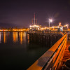 santa barbara pier night-1671