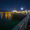 santa barbara pier night-1674