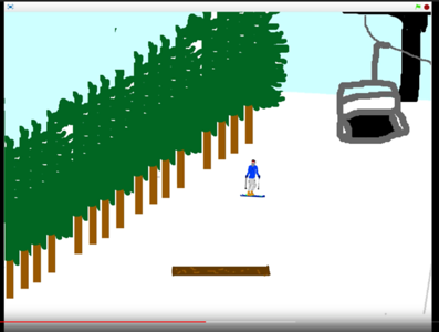 "Ethan Leamey (Grade 8) – Video Game Design, ""Xtreme Sports"" – Honorable Mention"