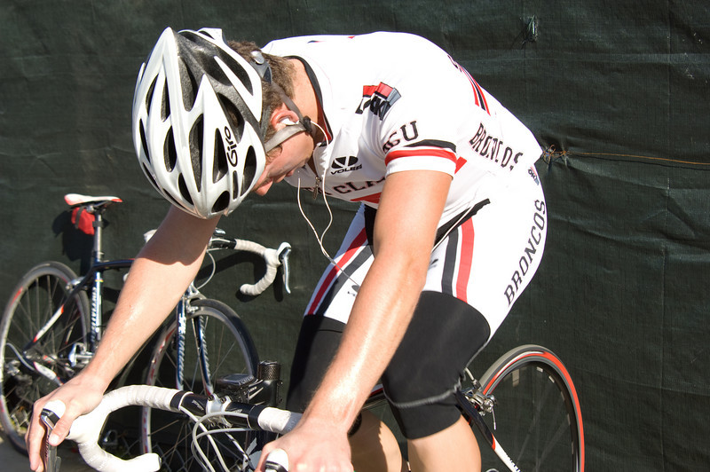 Warm Up before the UC Berkeley Crit