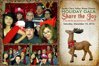 Santa Clara Valley Water District Holiday Party 2016