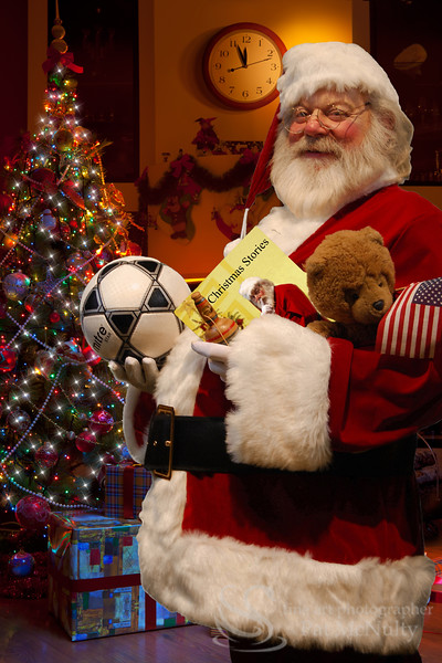 Santa Claus Christmas Toy Gifts Picture