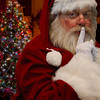 Santa Saying SHHH Quiet Picture